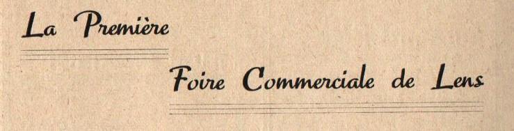 1937 : Première Foire Commerciale de Lens dans Histoire f37-001