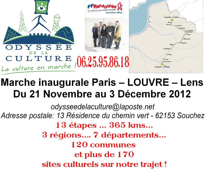 Du Louvre Lens à Gauheria dans Informations Odyssee