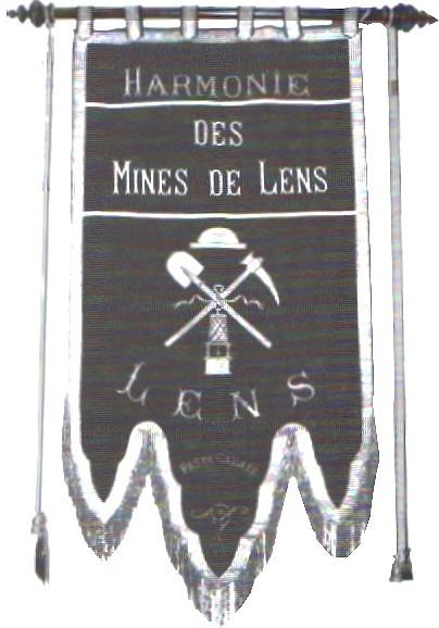 L'Harmonie des Mines de Lens dans Histoire HM001