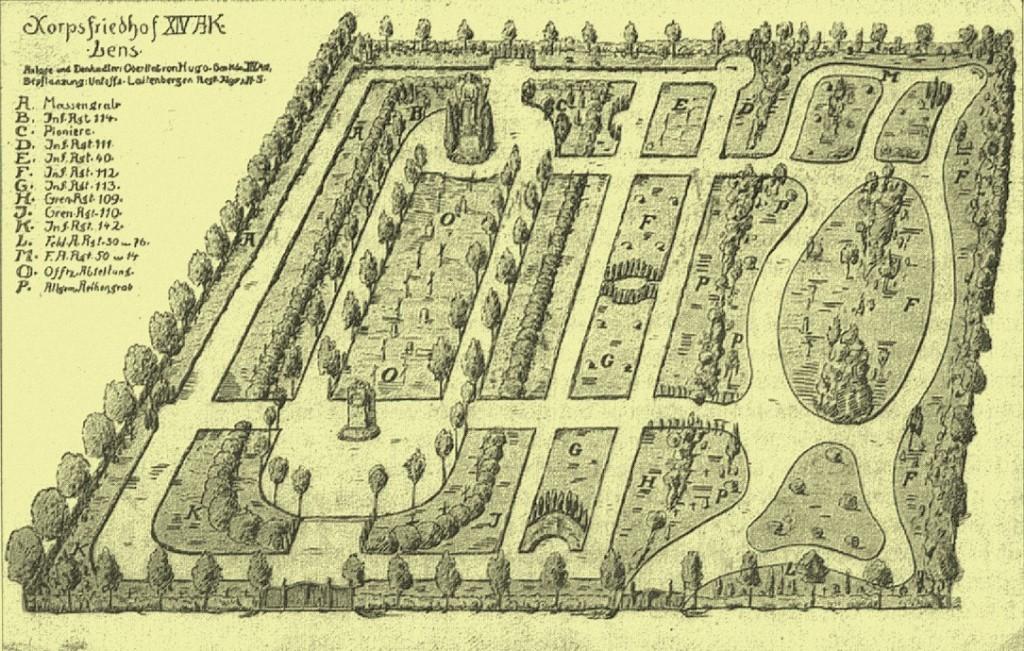 Le cimetière militaire allemand de LENS-SALLAUMINES dans Histoire CA1001-1024x651