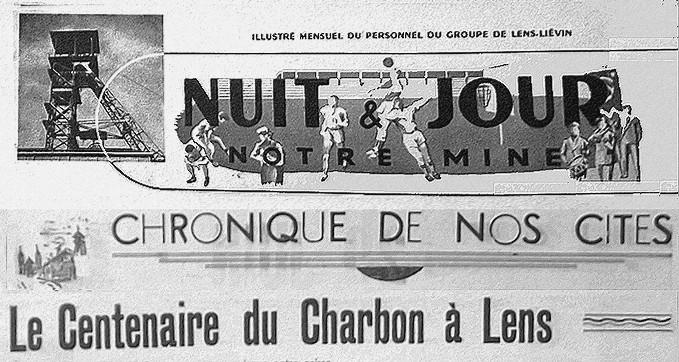 1952 : les Fêtes du centenaire du Charbon à Lens dans Histoire FC52-001