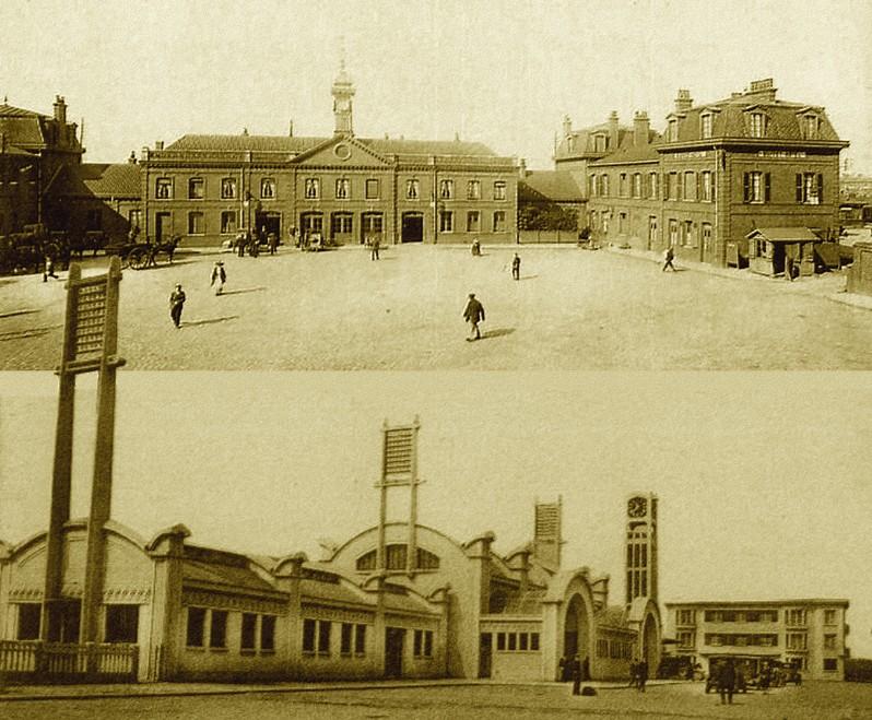LENS et ses gares dans Histoire gare1000