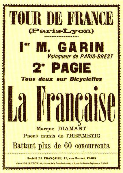 affiche1903 1904 dans Les Hommes