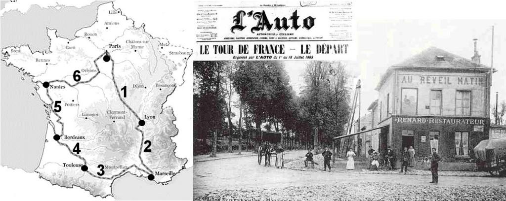 Les deux tours de France de Maurice Garin dans Histoire mg003