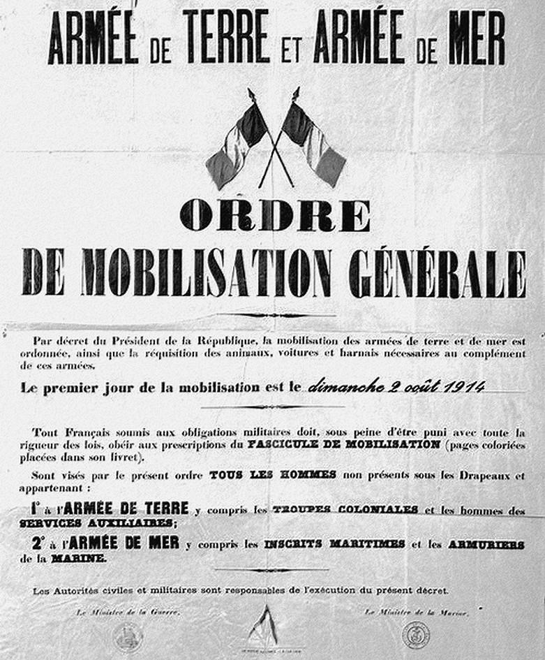 004 ordre de mobilisation