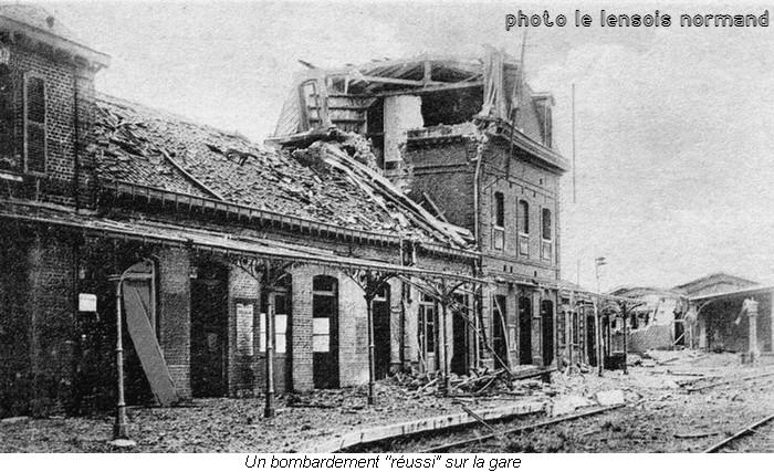 033 gare Lens fin 1915
